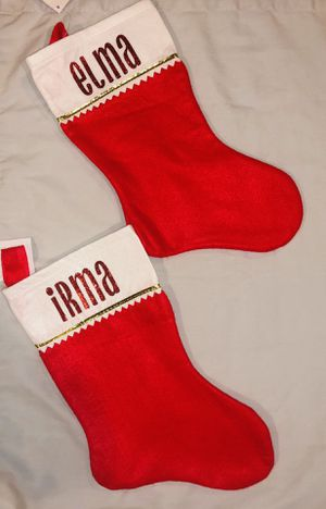Personalized stockings Christmas for Sale in Houston, TX