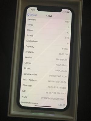 Brand new iphone X at&t for Sale in Alexandria, VA