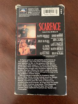 Scarface Box Set VHS Part 1 & 2 Thumbnail