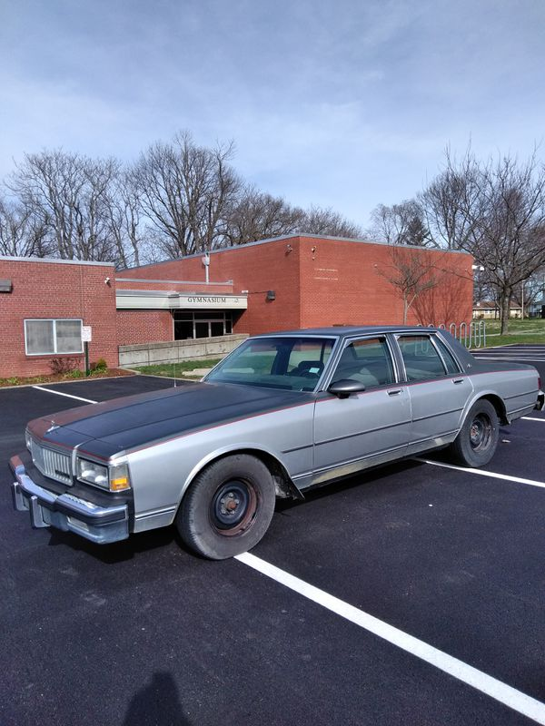 Classic One owner 1987 Chevy Caprice 77k original miles (Cars ...