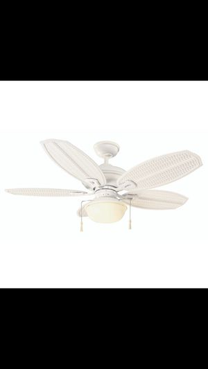 Home decorators collection bordere 56 in led brushed nickel ceiling 2987 hampton bay palm beach iii 48 in led indoor outdoor matte aloadofball Image collections