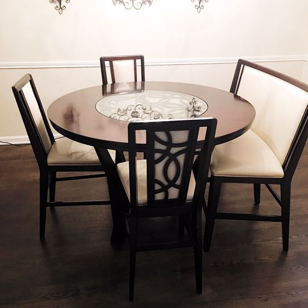 Cindy Crawford Home Highland Park Ebony 5 Pc Counter Height Dining For In Houston Tx Offerup