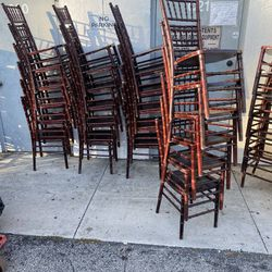 Mahogany chiavari chairs For Sale Thumbnail