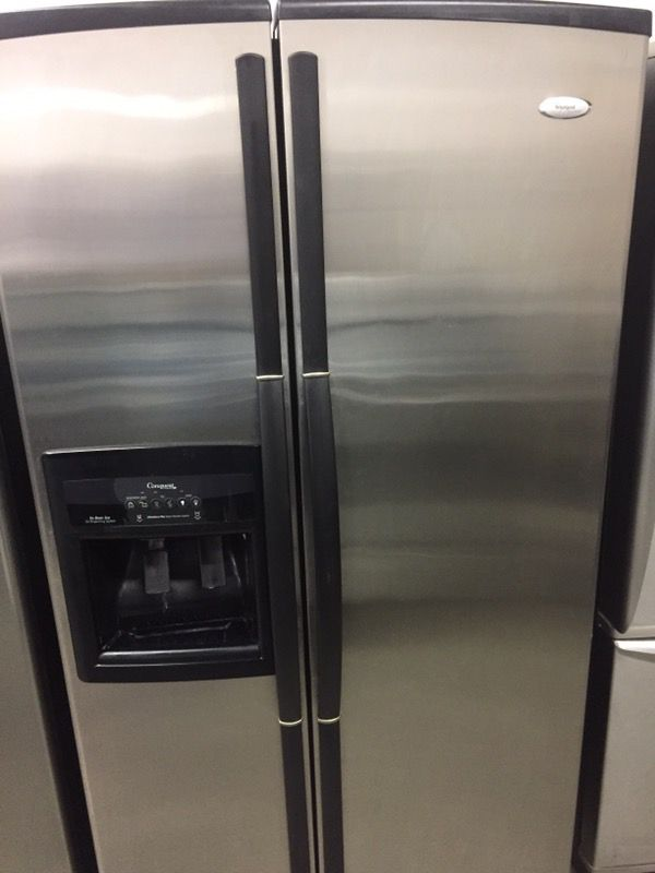 Whirlpool Gold Series Stainless Steel Refrigerator For Sale In