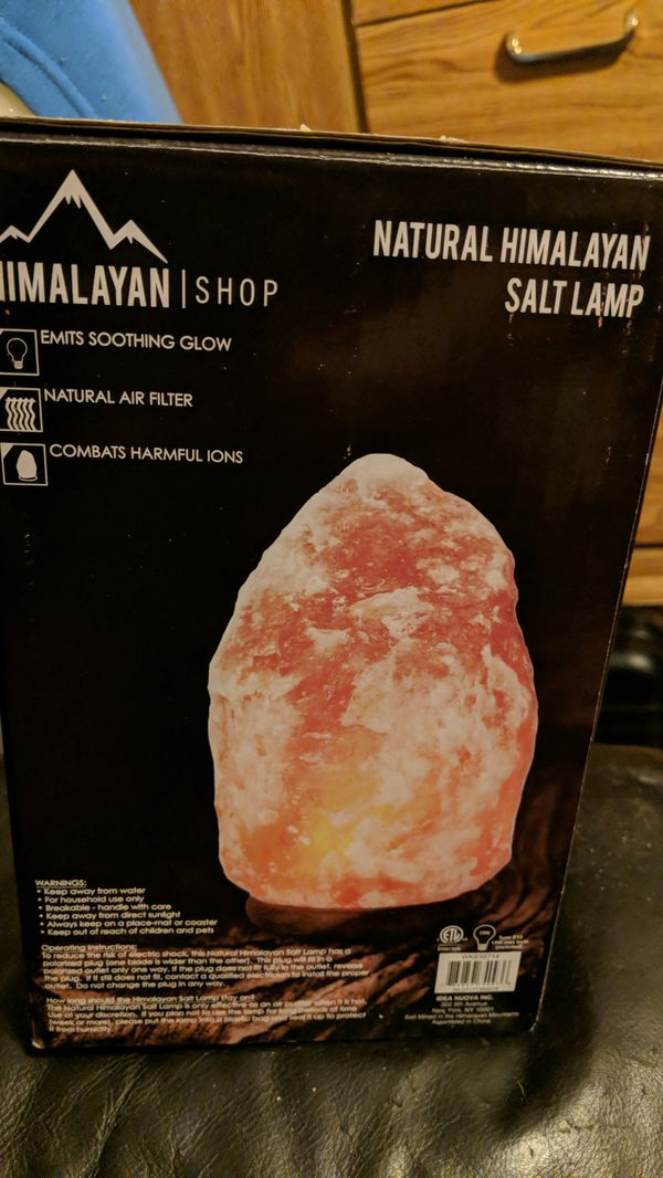 Natural Himalayan Salt Lamp For Sale In Rowland Heights Ca Offerup