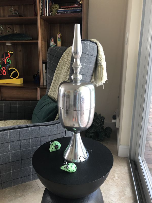 Silver Base Pottery Barn For Sale In Laud By Sea Fl Offerup