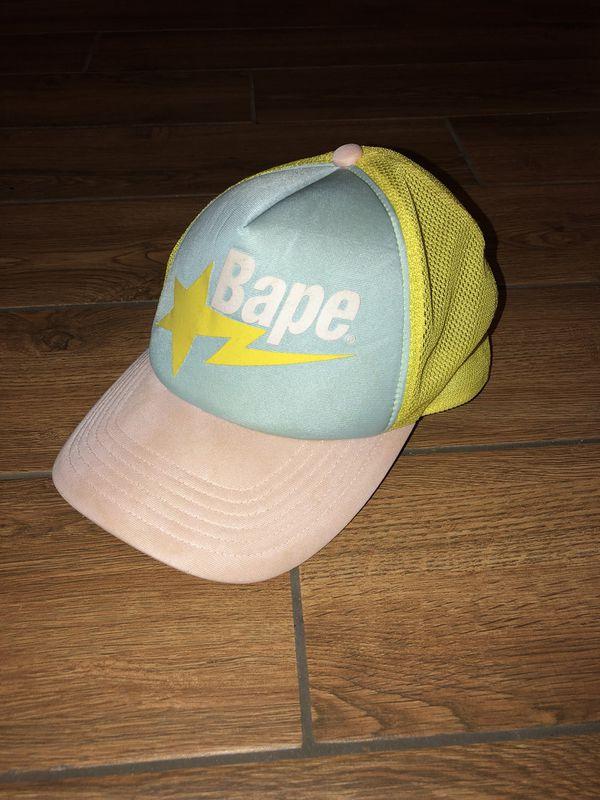 Bape Trucker Hat for Sale in Cypress 3a0c7e270