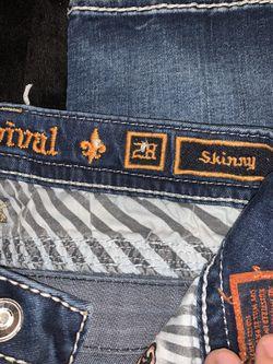 "Rock Revival ""codee"" Skinny jeans. Size 28. Thumbnail"