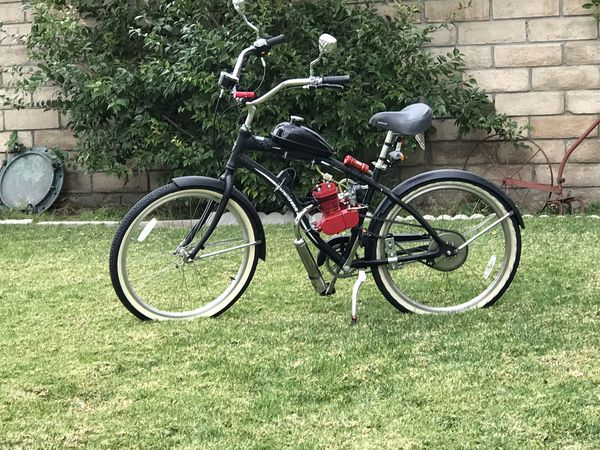 CA plated, Street Legal, 2 Stroke Northrock motorized bicycle for Sale in  Santa Susana, CA - OfferUp