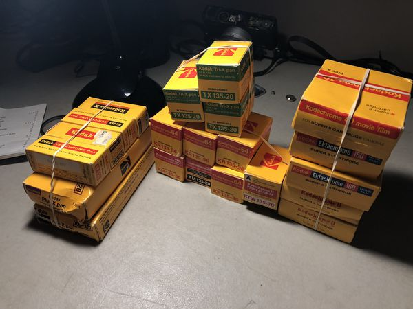 26 Roll Lot of EXPIRED Kodak Film 120, 35MM and 8MM 1970s-1980s Chrome Film  for Sale in Syracuse, NY - OfferUp