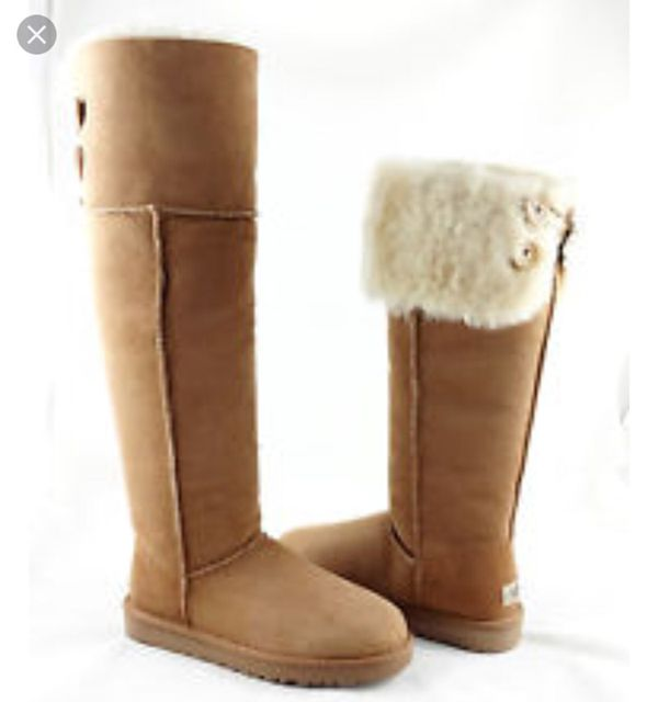 10df90121df UGG Over the knee Bailey button size 7 for Sale in San Jose, CA - OfferUp