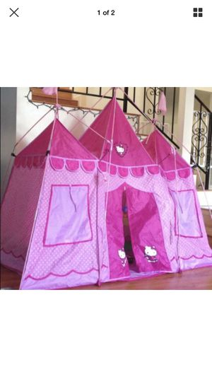 Castle Tent Blue
