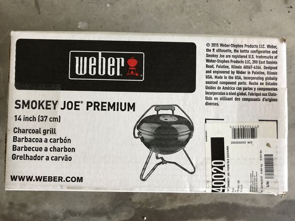 Weber Holzkohlegrill Smokey Joe Premium : 14u201d weber smokey joe premium charcoal grill for sale in lake mary