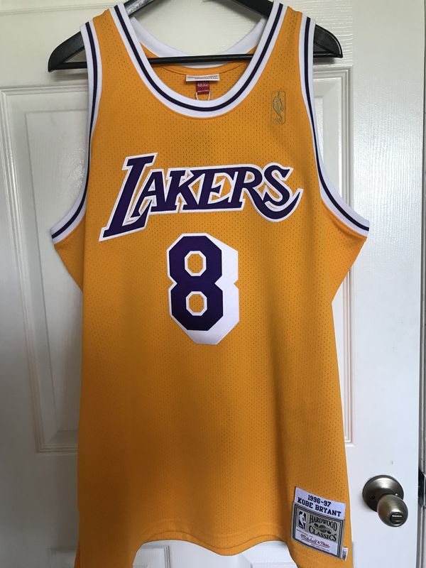 "finest selection 22d89 89d37 Mitchell & Ness ""Kobe Bryant"" rookie jersey for Sale in Garden Grove, CA -  OfferUp"