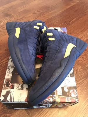 "Air Jordan Retro 12 ""Michigan"" for Sale in Richmond, VA"