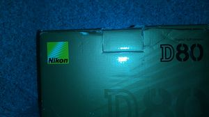 Nikon D80 for Sale in Temple Hills, MD