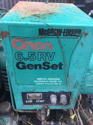 McGraw 6.5 Rv Generator for Sale in St. Louis, MO