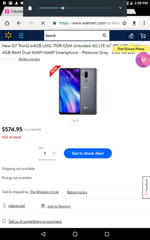 Lg stylo 4. for Sale in Columbus, OH