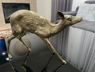 Brass Deer (Male And Female) Thumbnail