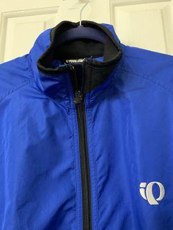 Pearl Izumi Winter Jacket Cobalt Blue & Black Sz L Thumbnail