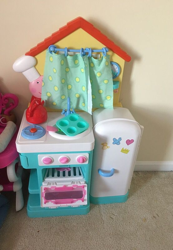 Peppa Pig Kitchen Set For Sale In Hagerstown Md Offerup