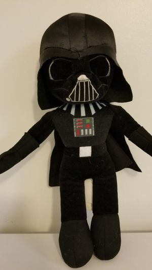 "Star wars toy. Darth Vader plush 16"" tall. Good condition for Sale in Milford Mill, MD"