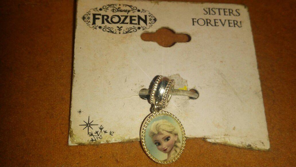 Frozen .925 silver charm