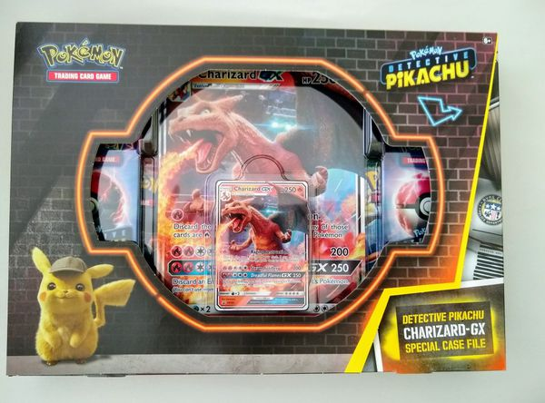 Detective Pikachu Charizard Special Case File For Sale In