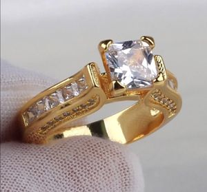 New 14 k yellow gold Engagement ring wedding ring set for Sale in Orlando, FL