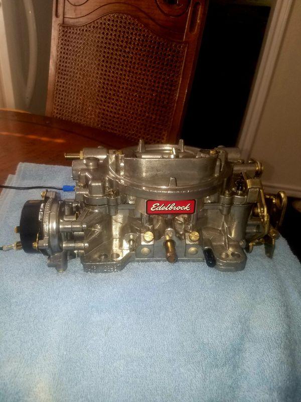rebuilt edelbrock carburetors