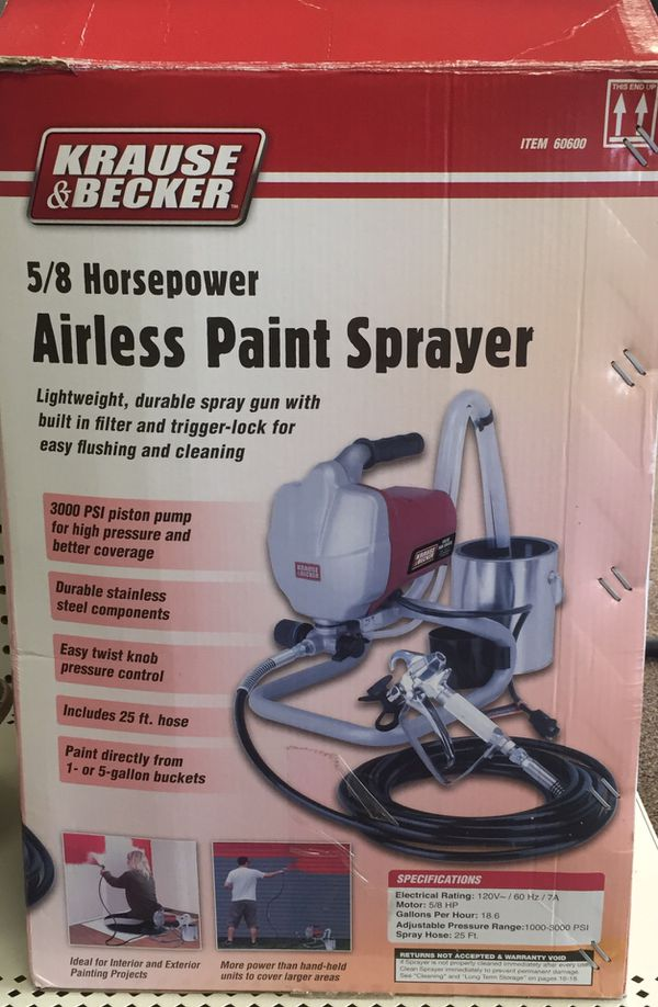 Krause & Becker airless paint sprayer for Sale in Houston, TX - OfferUp