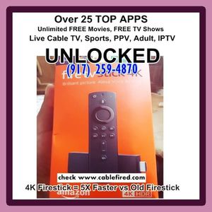 New and Used Fire tv for Sale in Jersey City, NJ - OfferUp