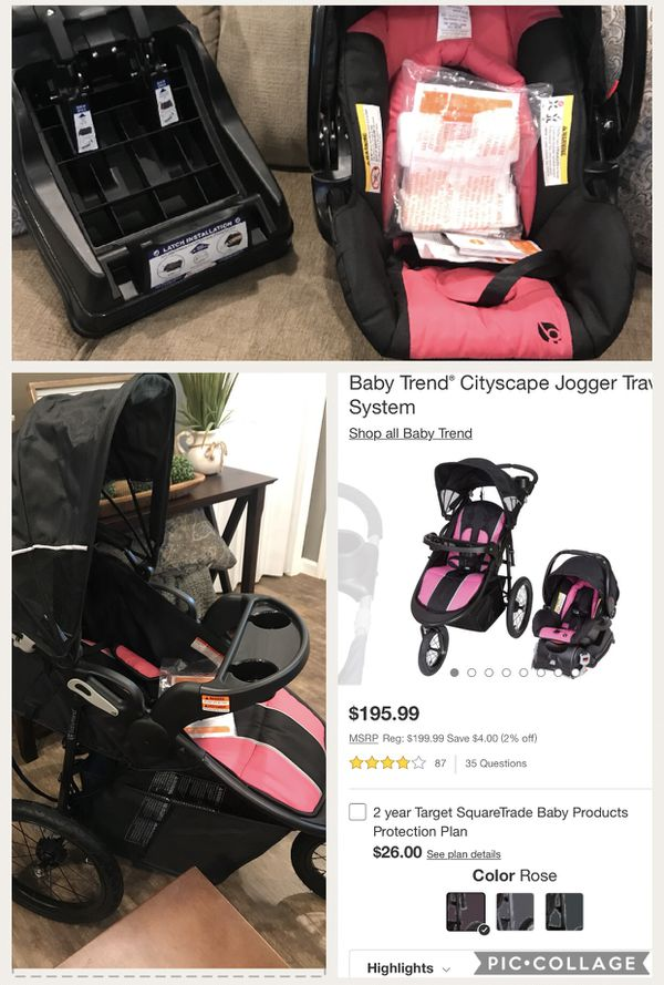 Brand New Baby Trend Cityscape Jogger Travel System For Sale In Dalton Ga Offerup