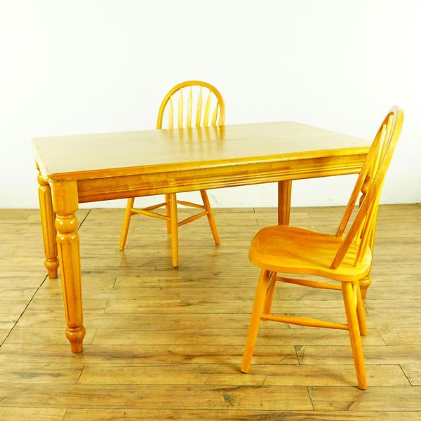 Wooden Dining Table & 2 Chairs (1015874) (Furniture) in South San ...