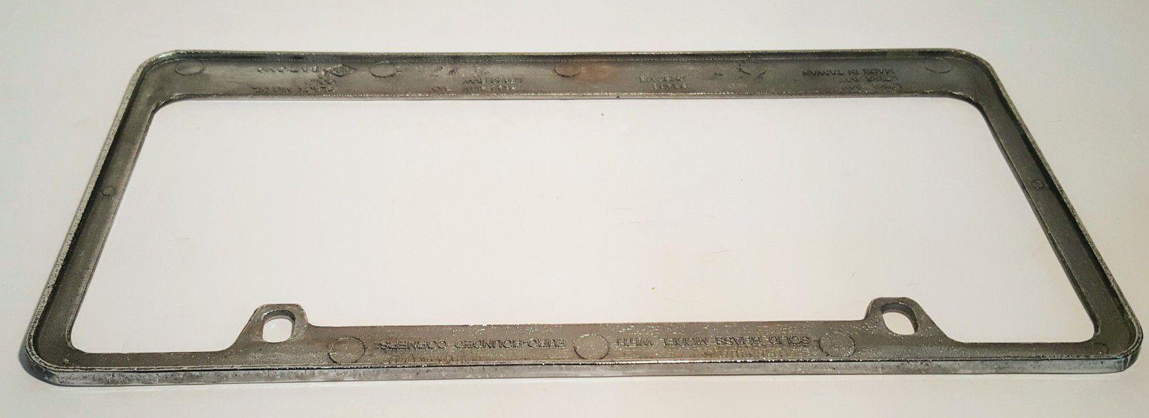 Cherokee Chrome License Plate Frame
