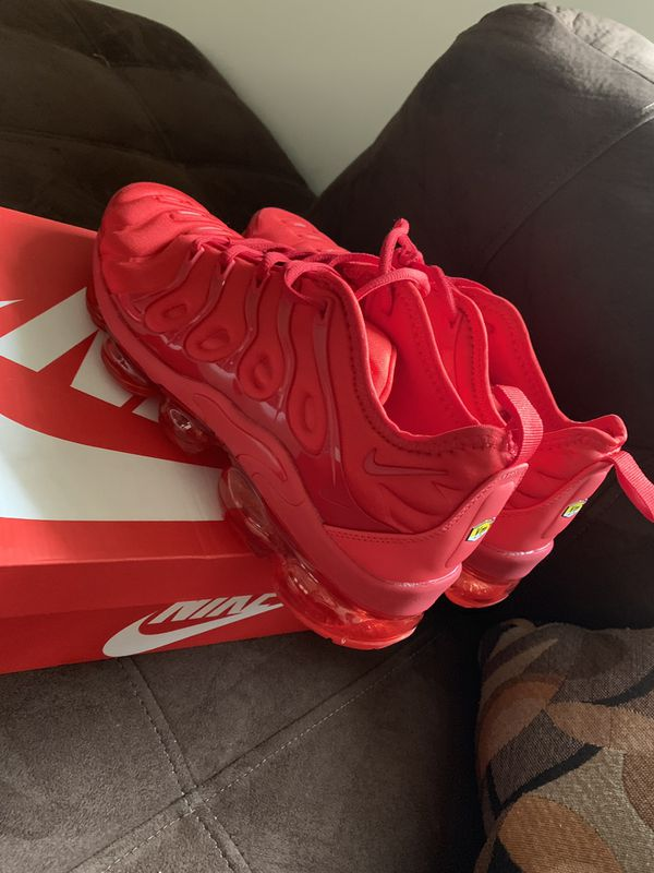 cheaper 12cbc 1bba0 New Nike Air Vapormax Plus all Red for Sale in Greensboro, NC - OfferUp