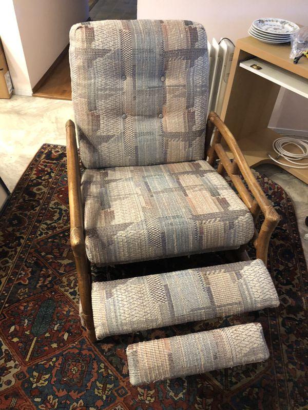 Sweet Free Wicker Chair Recliner U Haul For Sale In