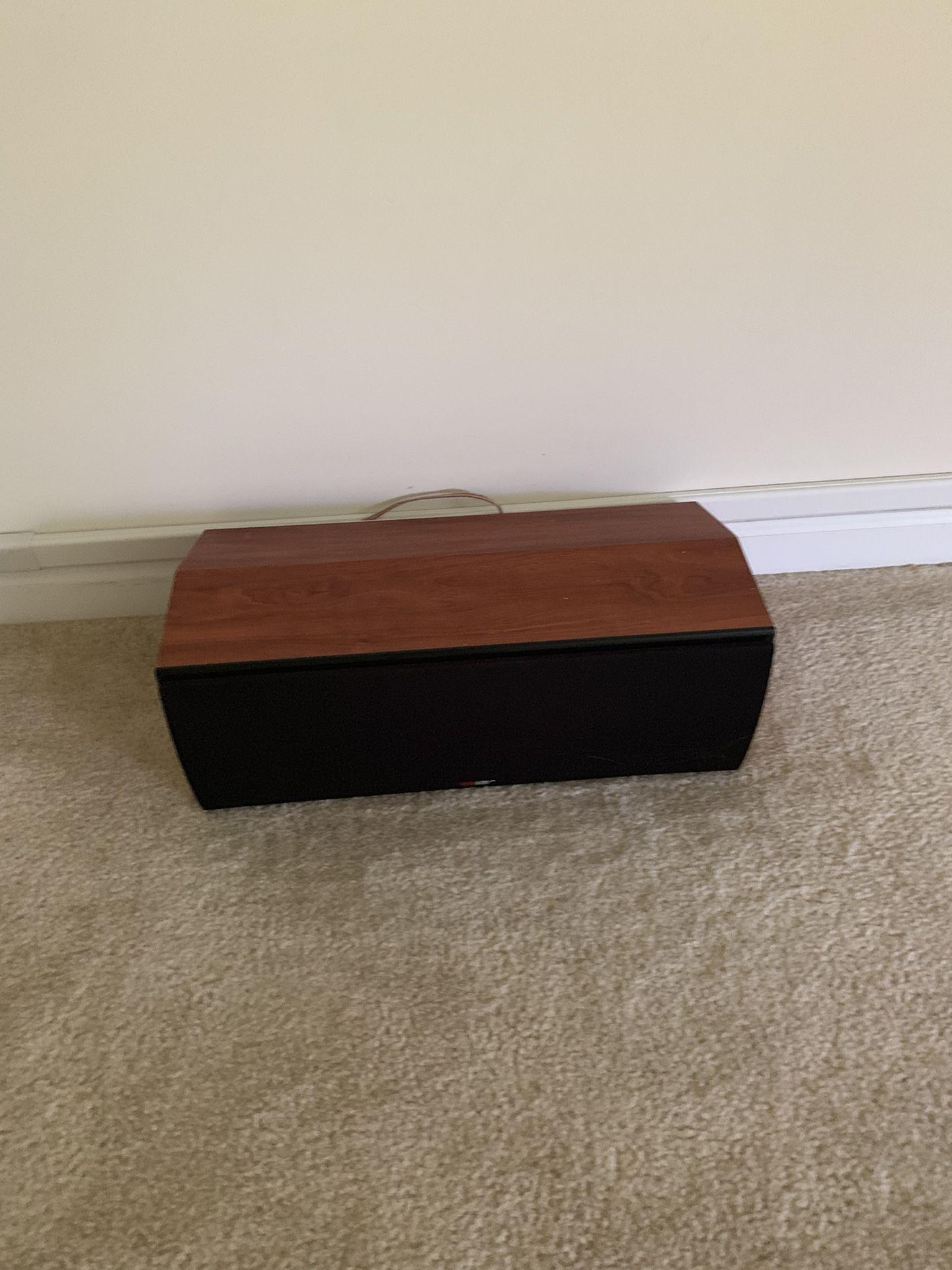 Polk Audio CS2 ll Monitor TSI Cherry center channel speaker