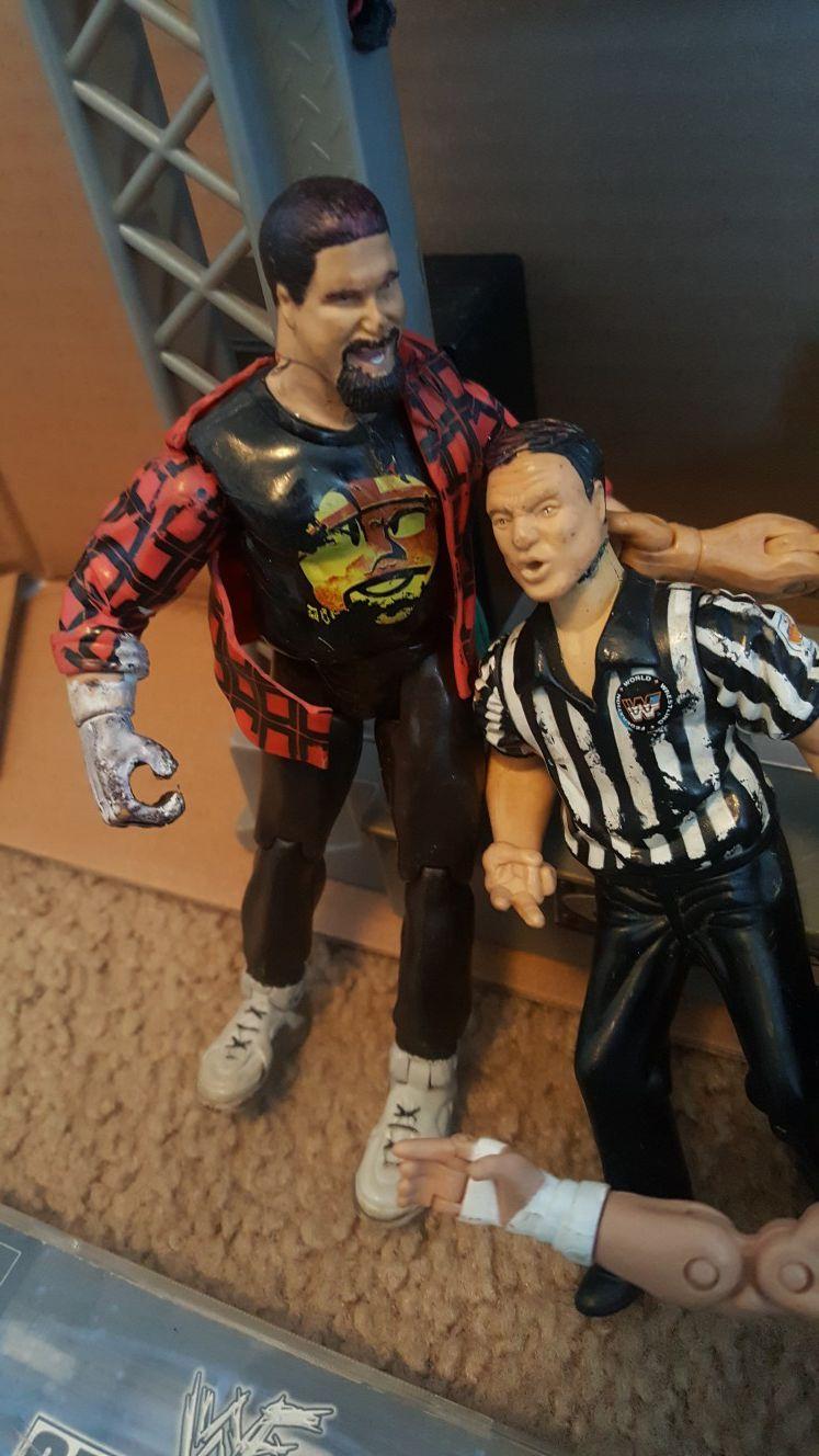 WWE/WWF/TNA/ECW/WCW TOYS&GAMES