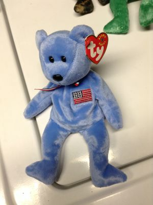 America beanie baby bear for Sale in Alexandria, VA