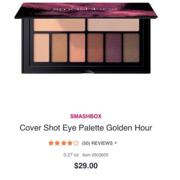 Smashbox cover shot golden hour eyeshadow palette for Sale in Sarasota, FL  - OfferUp