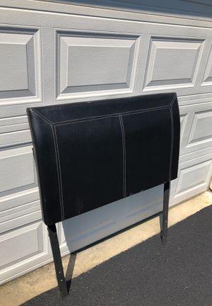 Twin Leather Headboard for Sale in Herndon, VA