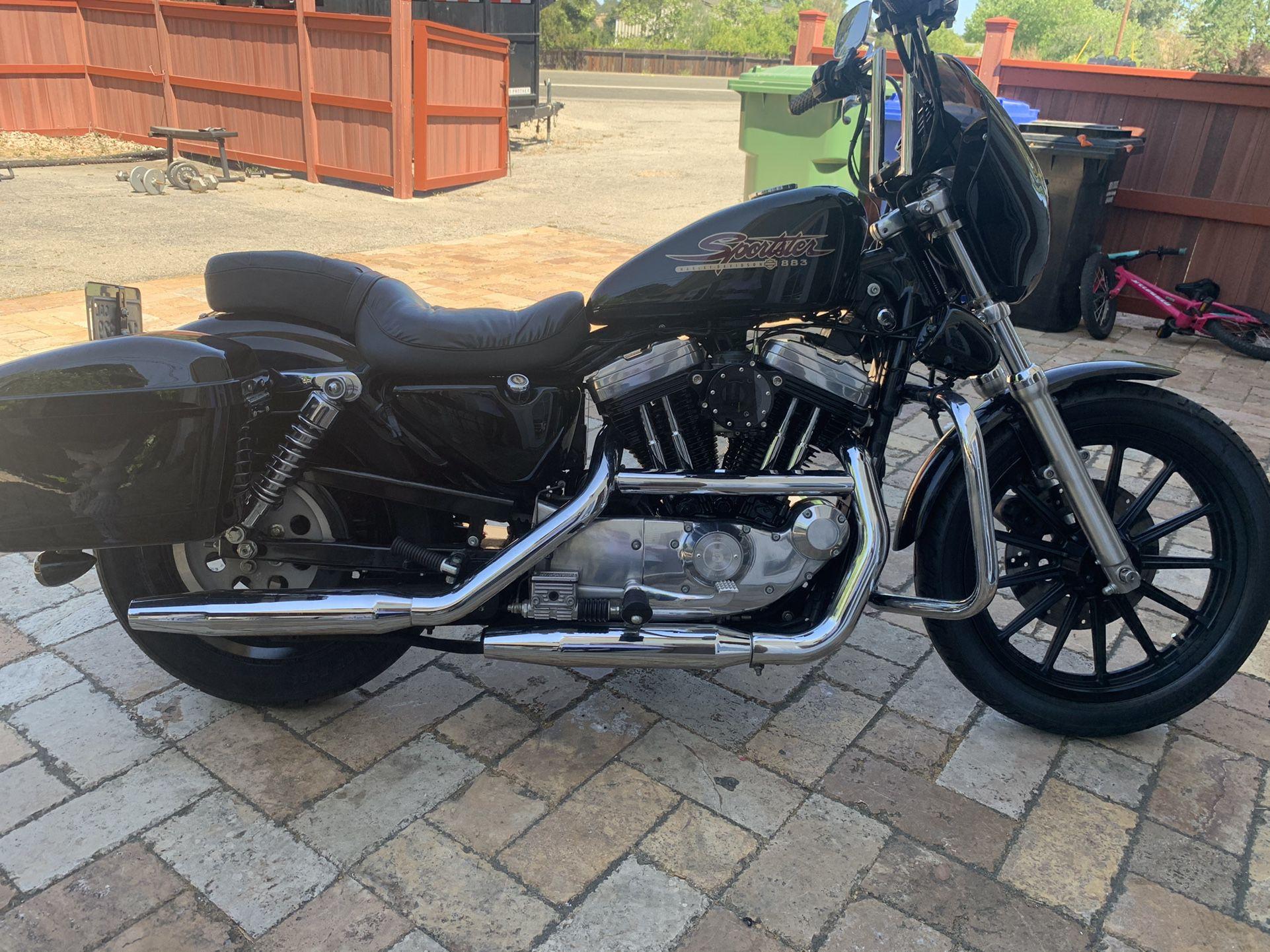 Photo 1998 Harley Davidson Sportster Hugger 883