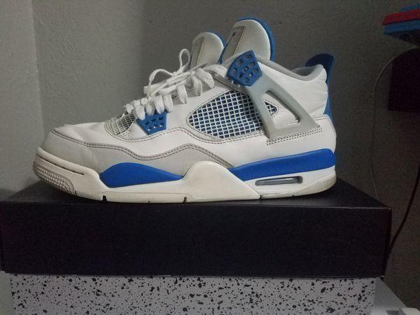 meet aaacf d25bd Jordan 4s Retro Military Blues (2012) for Sale in Watsonville, CA - OfferUp