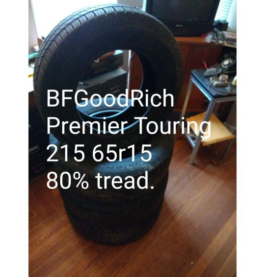 """BFGoodRich 15"""" All Season Tires. Set Of Four For Sale In"""