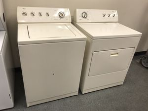 Photo Whirlpool • Washer & Dryer • clean! In good condition!