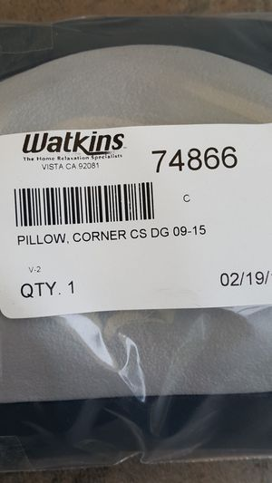 Hot tub Spa pillow - Watkins 74866 for Sale in Carlsbad, CA