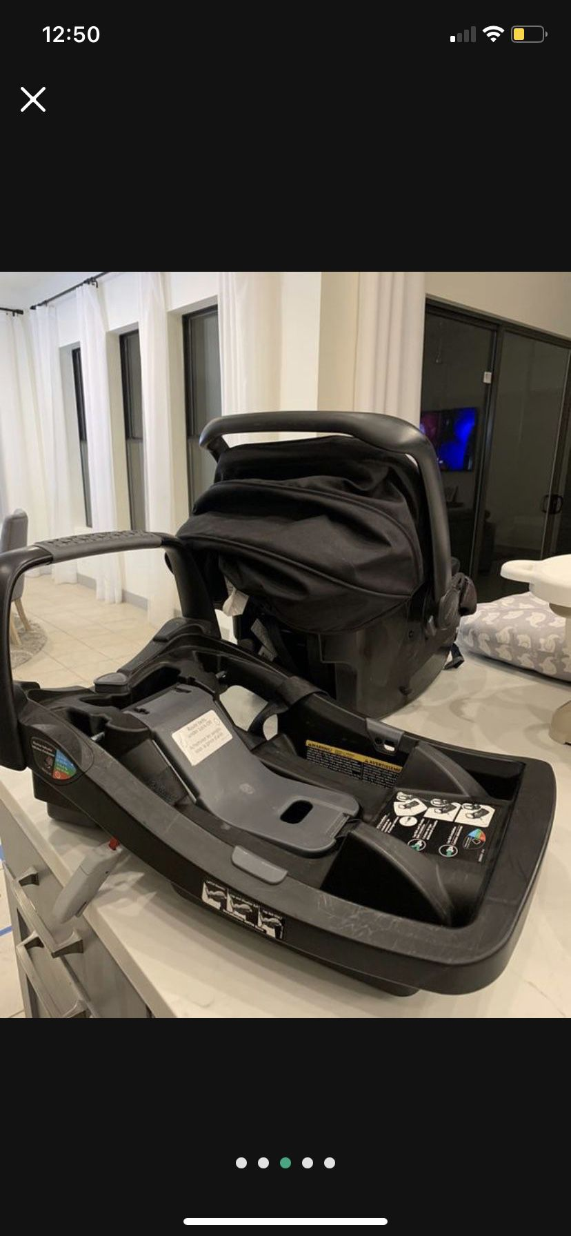 Evenflo Baby Car seat And Base