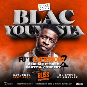 Sept 29 @Bliss for Sale in Washington, DC