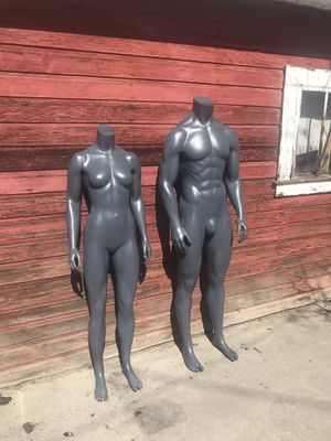 Photo Mannequins male and female